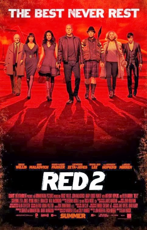 Poster Of English Movie Red 2 (2013) Free Download Full New Hollywood Movie Watch Online At Alldownloads4u.Com