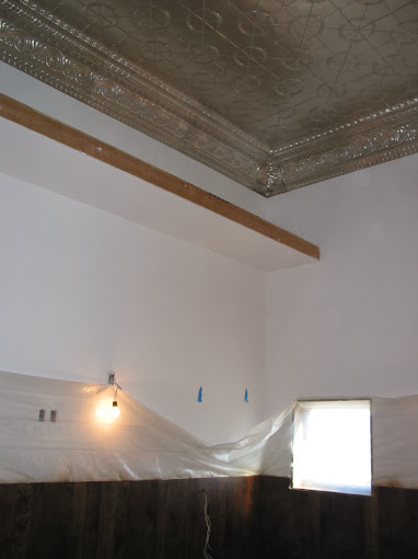 MorningStar Studio new sheetrock walls