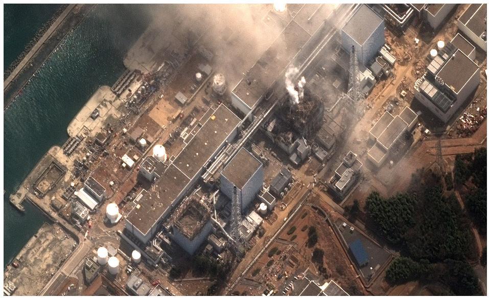 fukushima Reactor2 explosion