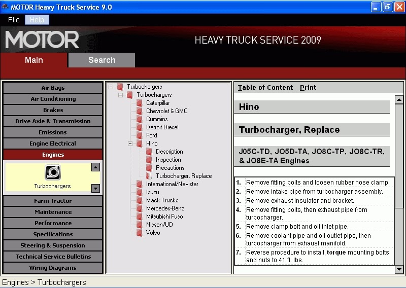 Motor Heavy Truck11   2009