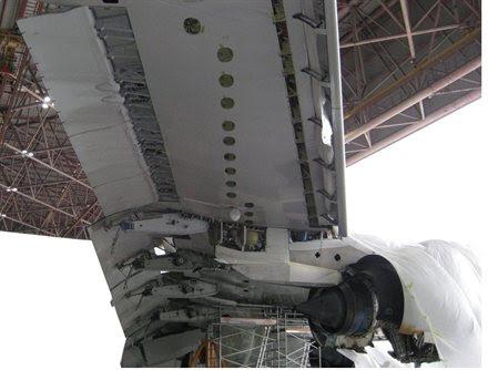 Микротрещины на крыльях Airbus A380