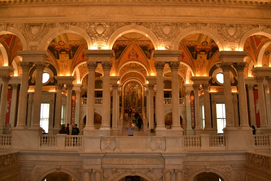 Библиотека Конгресса США, Вашингтон, округ Коламбия (Library of Congress, Washington DC)