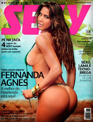 Fernanda Agnes – Revista Sexy