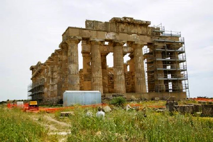 Italy: Restoration of Sicily's Selinunte nears completion