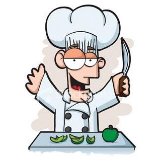 Gastronom a andaluza - Dibujos de cocineros para colorear ...