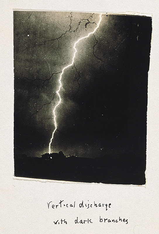 Vertical Discharge with Dark Branches by William N. Jennings