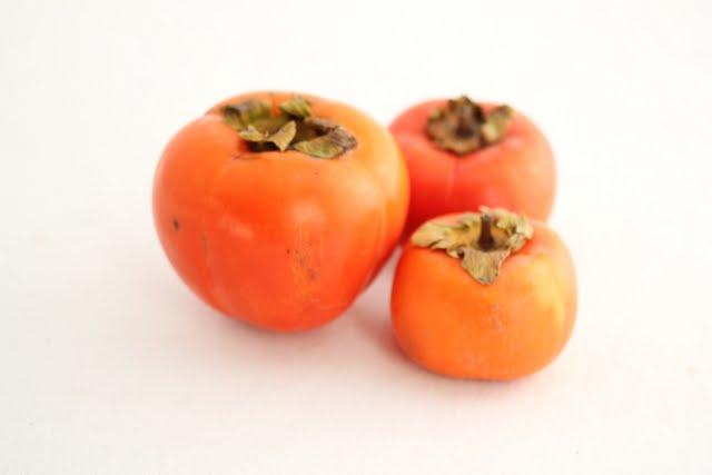 photo of fresh persimmons