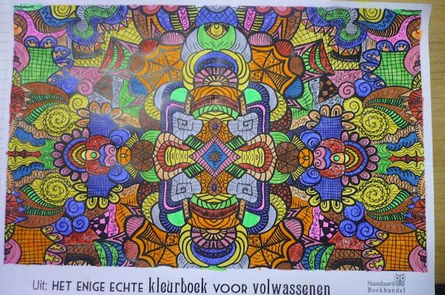 Kleurplaten Voor Volwassenen De Standaard.Zesde Leerjaar B Coloma