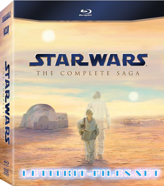 Звездные войны. Эпизоды 1-6 / Star Wars. The Complete Season. Episodes I-VI (1977-2005) 6 x BluRay