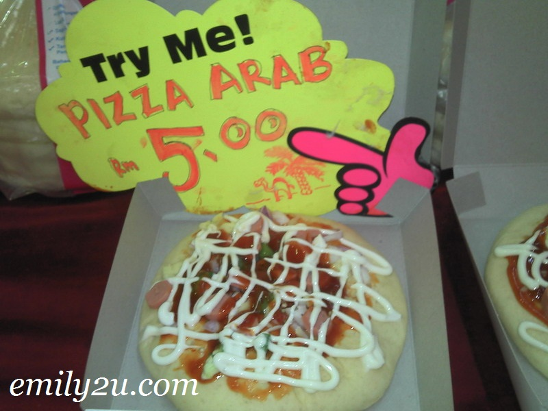 Pizza Arab in Malaysia