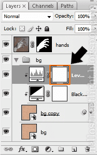 Select layer mask