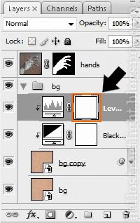 Select layer mask