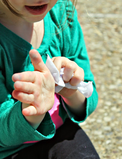 Dirty hands are no match for #PurellWipes plus let kiddos be responsible for their own cleanup