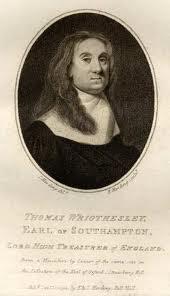 Thomas Wriothesley, Earl of Southampton
