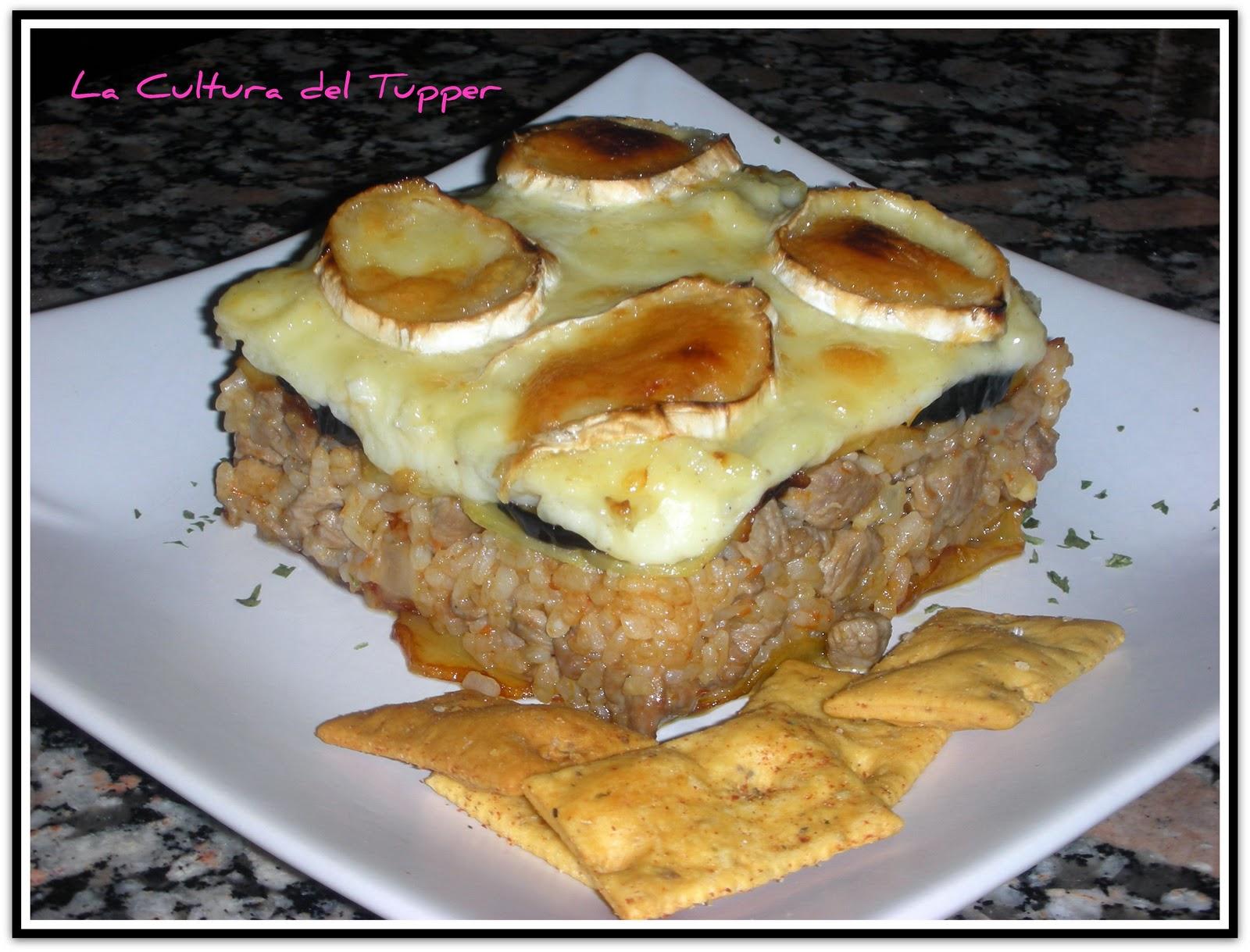 Mousaka aragonesa de arroz y ternasco de arag n la for Cocina aragonesa zaragoza