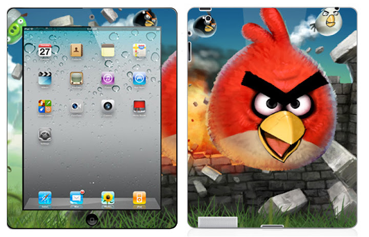Angry Birds Apple Ipad 2 Vinyl Skin Sticker Decal