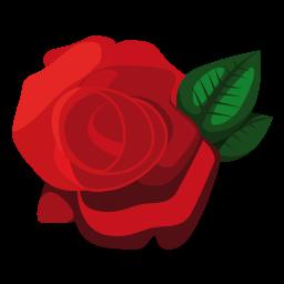 Rode roos liefde afbeelding