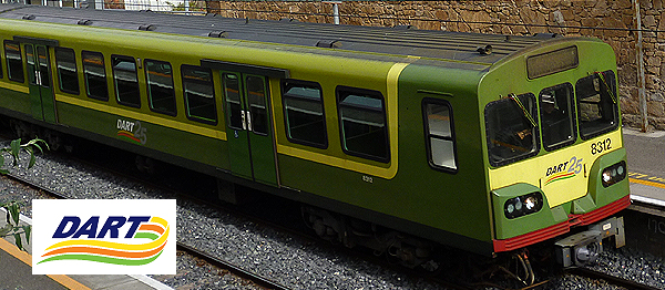 Train à Dublin