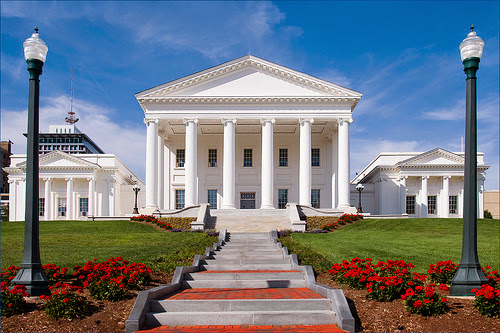 Virginia State Capitol building. From 5 Historical Sites to Visit in Richmond, Virginia
