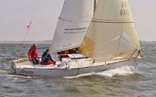 J/24s sailing Grand Prix Crouesty- France