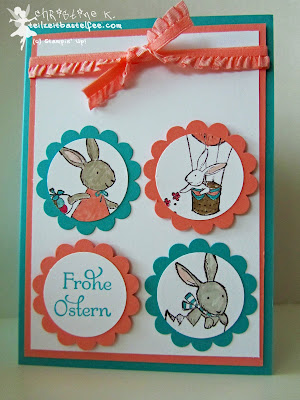 stampin up, inkspire_me #142, everybunny, hasenparade, easter, ostern, duftes dutzend, dozen thoughts, easter blossoms