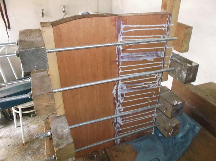 Construção inspirada Les Paul Custom, meu 1º projeto com braço colado (finalizado e com áudio) DSCF0435