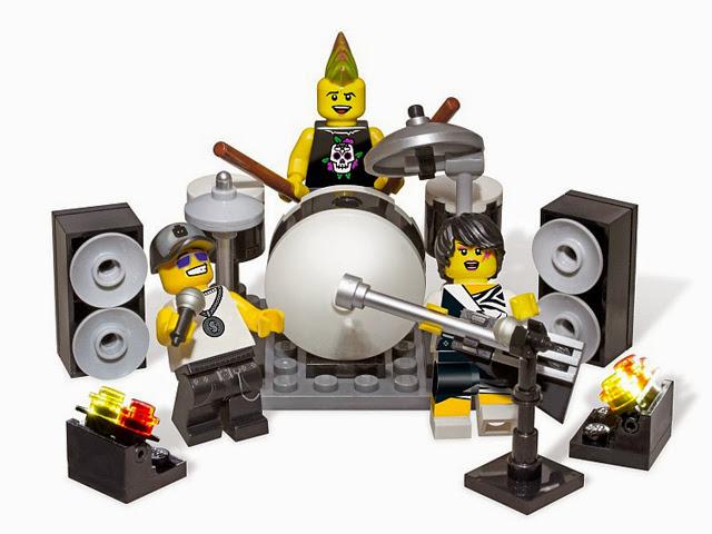 850486 レゴ ロックバンド ミニフィグアクセサリーセット