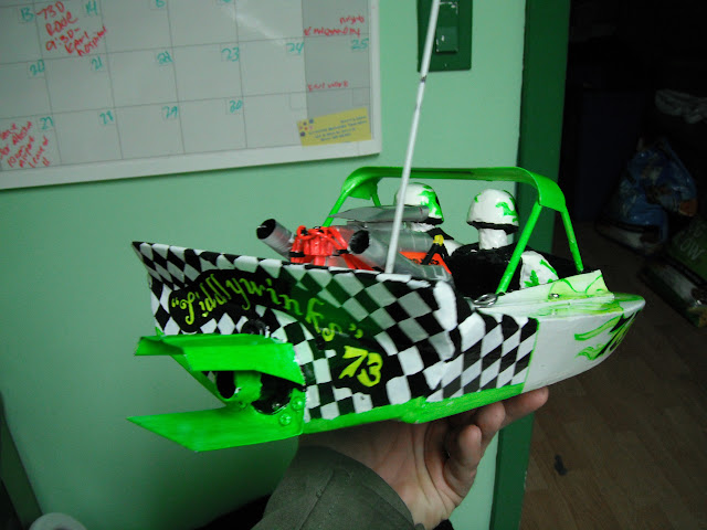 Scratch Built Jet Sprint Boat