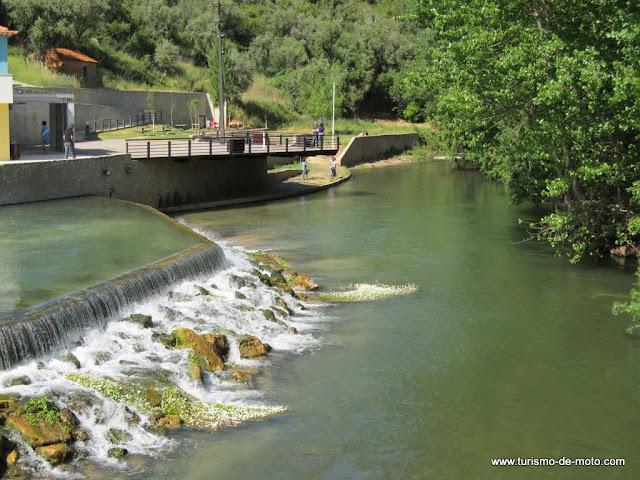 Piscina fluvial do Agroal, Tomar, Cidade dos Templários, Rio Nabão, Santarém, Ribatejo