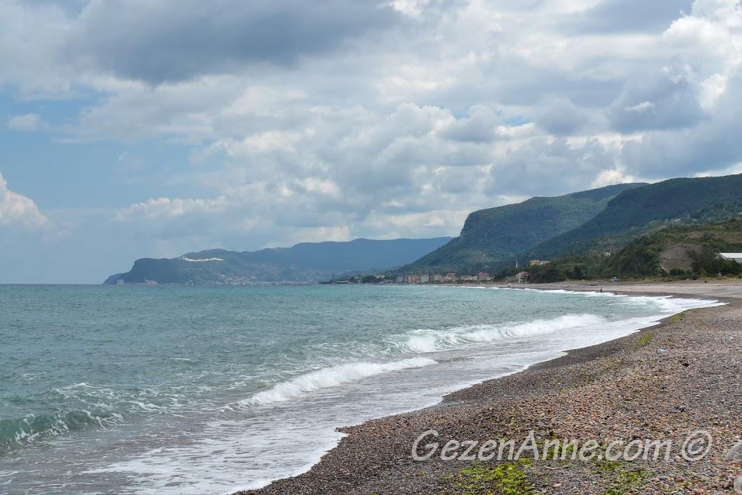 deniz ve dağ manzarası, Cide