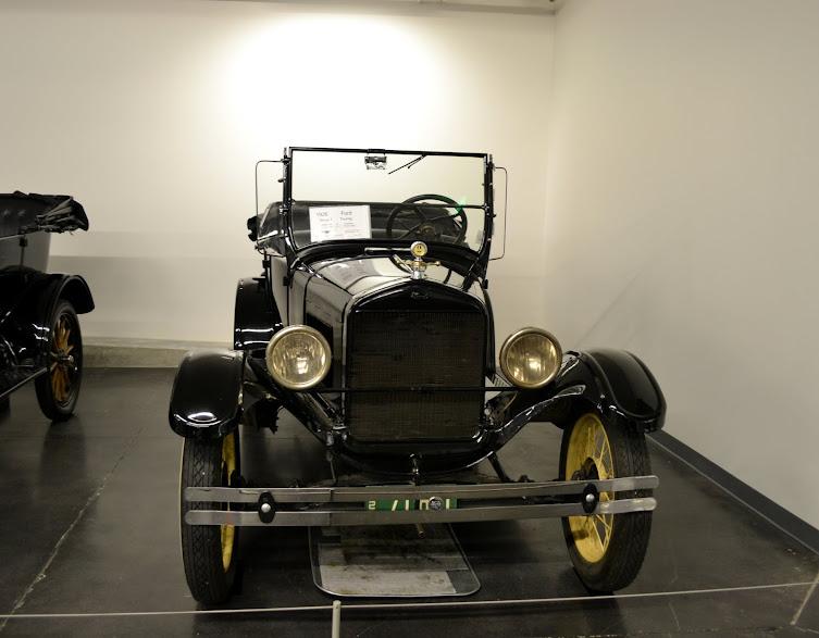 Форд. Модель Т. Автомобильный музей ЛиМей, Такома, Вашингтон (LeMay Museum, Tacoma, WA)