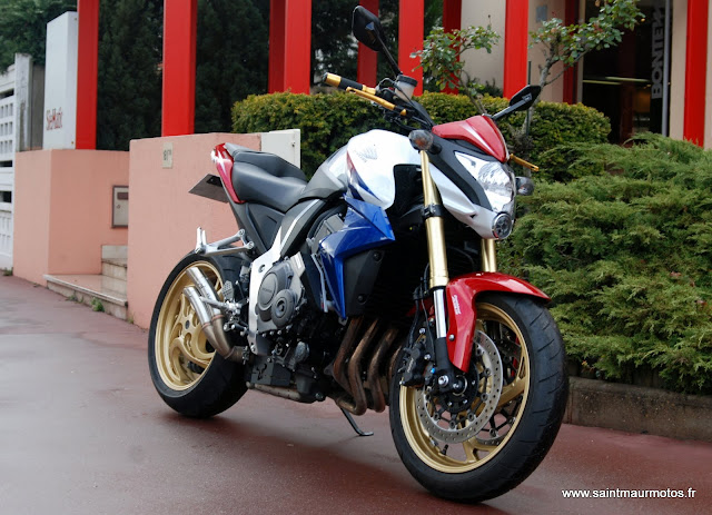 occasion honda cb1000r abs extreme hrc 2012 3950kms. Black Bedroom Furniture Sets. Home Design Ideas