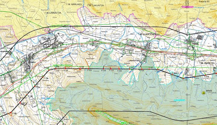 Imagen de un plano correspondiente a Sakana
