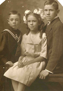 JN's three Children, Stanley, Elizabeth, and Benjamin Anderson