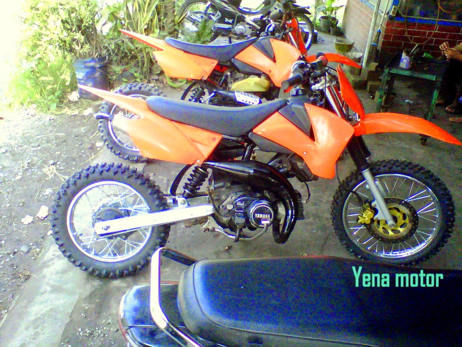 modifikasi honda tiger 2000