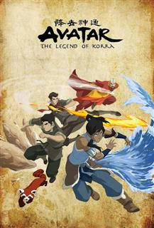 Avatar The Legend Of Korra Poster%2520%2528Custom%2529 The Legend of Korra 4ª Temporada Episódio 08 Legendado RMVB + AVI