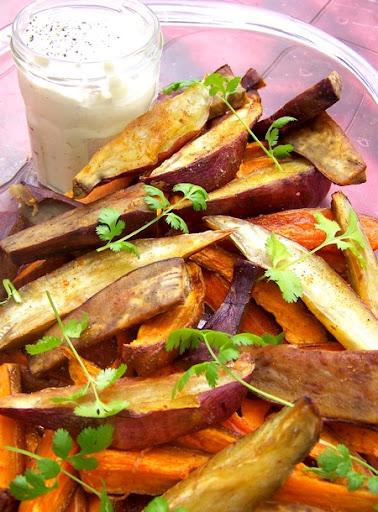 Ottolenghi: Patate douce rôtie, crème à la citronnelle