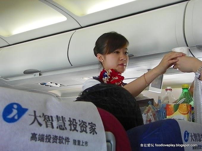中國東方航空-上海松山-經濟艙飛機餐