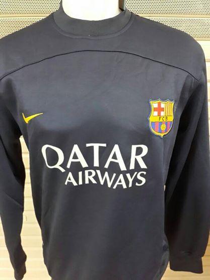 Jual Sweater Training Barcelona Hitam Terbaru 2014