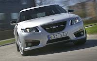 Saab 9-5 Sedan front