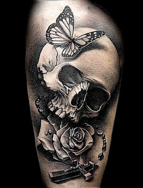 60 Awesome Skull Tattoo Designs  Showcase of Art amp Design