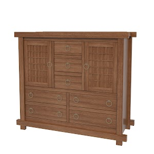 tansu wardrobe dresser