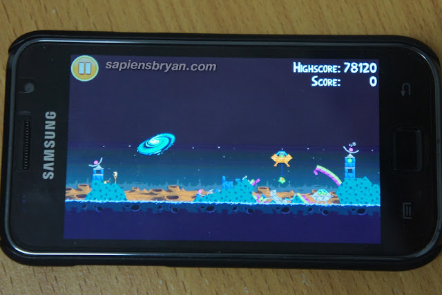 Angry Birds Seasons Golden Egg: Secret Samasung galaxy S II Level