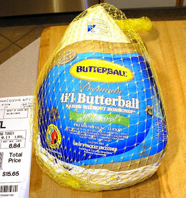 Li'l Butterball Turkey 8.84 lbs. Nov. 27, 2014