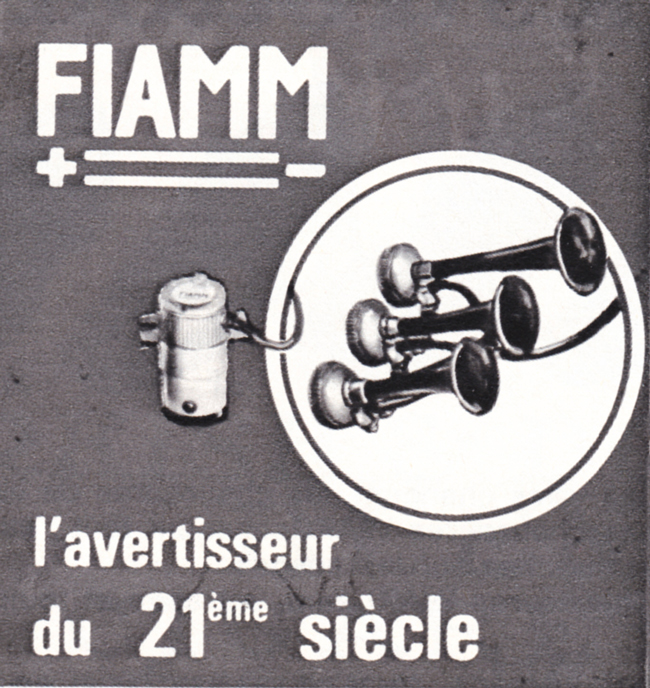 Publicité vintage : L'avertisseur du 21ème siècle - Pour vous Madame, pour vous Monsieur, des publicités, illustrations et rédactionnels choisis avec amour dans des publications des années 50, 60 et 70. Popcards Factory vous offre des divertissements de qualité. Vous pouvez également nous retrouver sur www.popcards.fr et www.filmfix.fr   - For you Madame, for you Sir, advertising, illustrations and editorials lovingly selected in publications from the fourties, the sixties and the seventies. Popcards Factory offers quality entertainment. You may also find us on www.popcards.fr and www.filmfix.fr