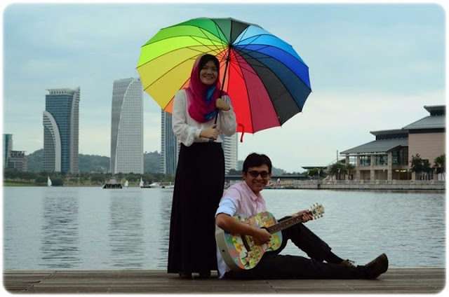 Pre Wedding Photoshoot dengan Studio muslim
