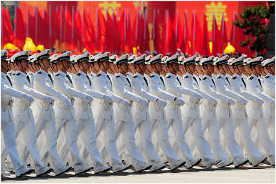 China's military budget skyrockets while US dives