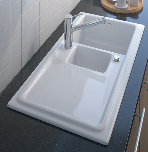 Kitchen Ceramic Sink Caddy Pier