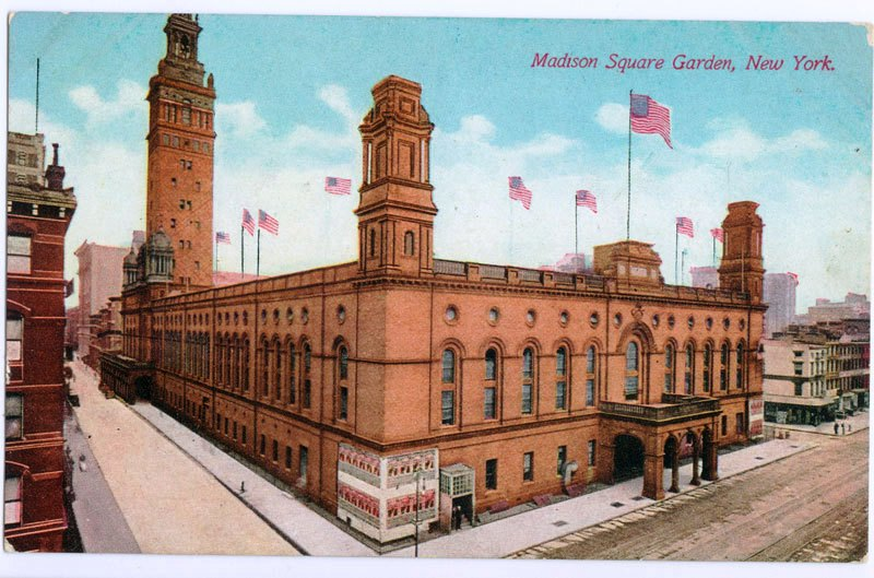 Daytonian in manhattan stanford white 39 s lost 1900 madison - How old is madison square garden ...