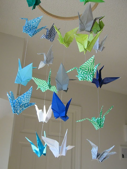 Inspired by... Origami Cranes